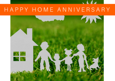 Home Anniversary Sample